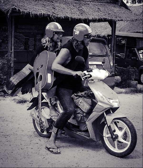 Mit dem Mope durch Kambodscha