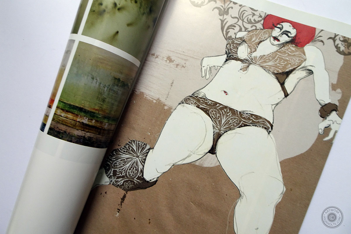 Artwork Le Monstre von Anja Nolte in Creative_Quarterly No.28