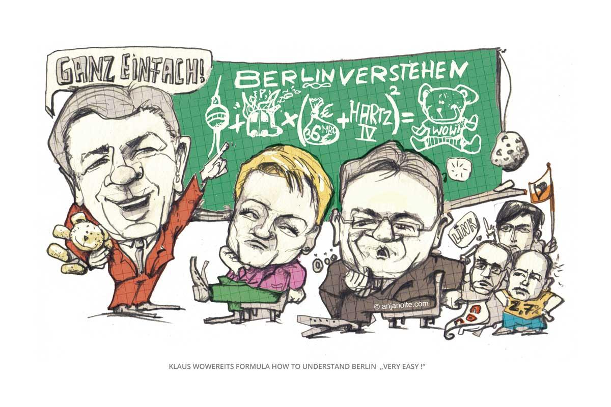 Wahlkampf-Wowereit contra Renate Künast, Olaf Scholz u.a.