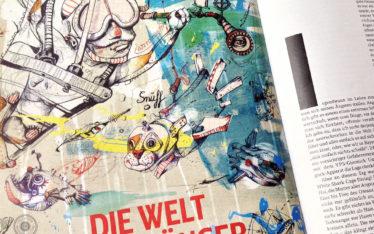 Illustration Anja Nolte für DB Mobil Magazin