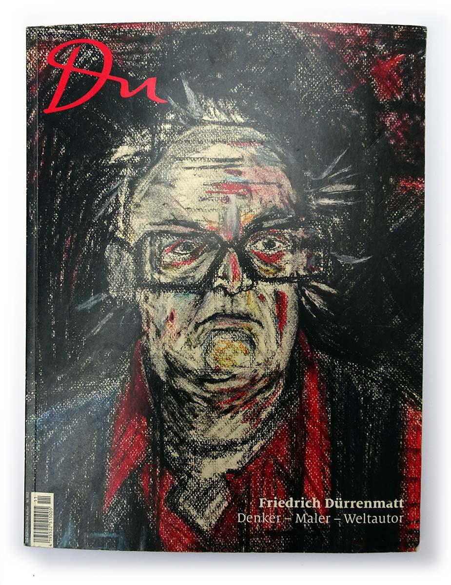 Du Kulturmagazin mit Selbstportrait Dürrenmatts