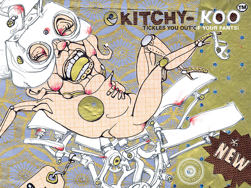 Kitchy-Koo Editorial Artwork