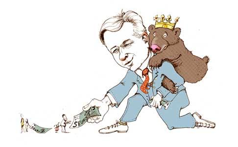 Klaus Wowereit Karikatur