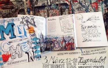 Buchpräsentation und Widmungen Hugendubel Anja Nolte