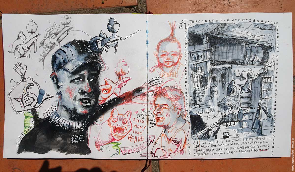 Travel_Vietnam_PHU_YES Dongdong Sketchbook