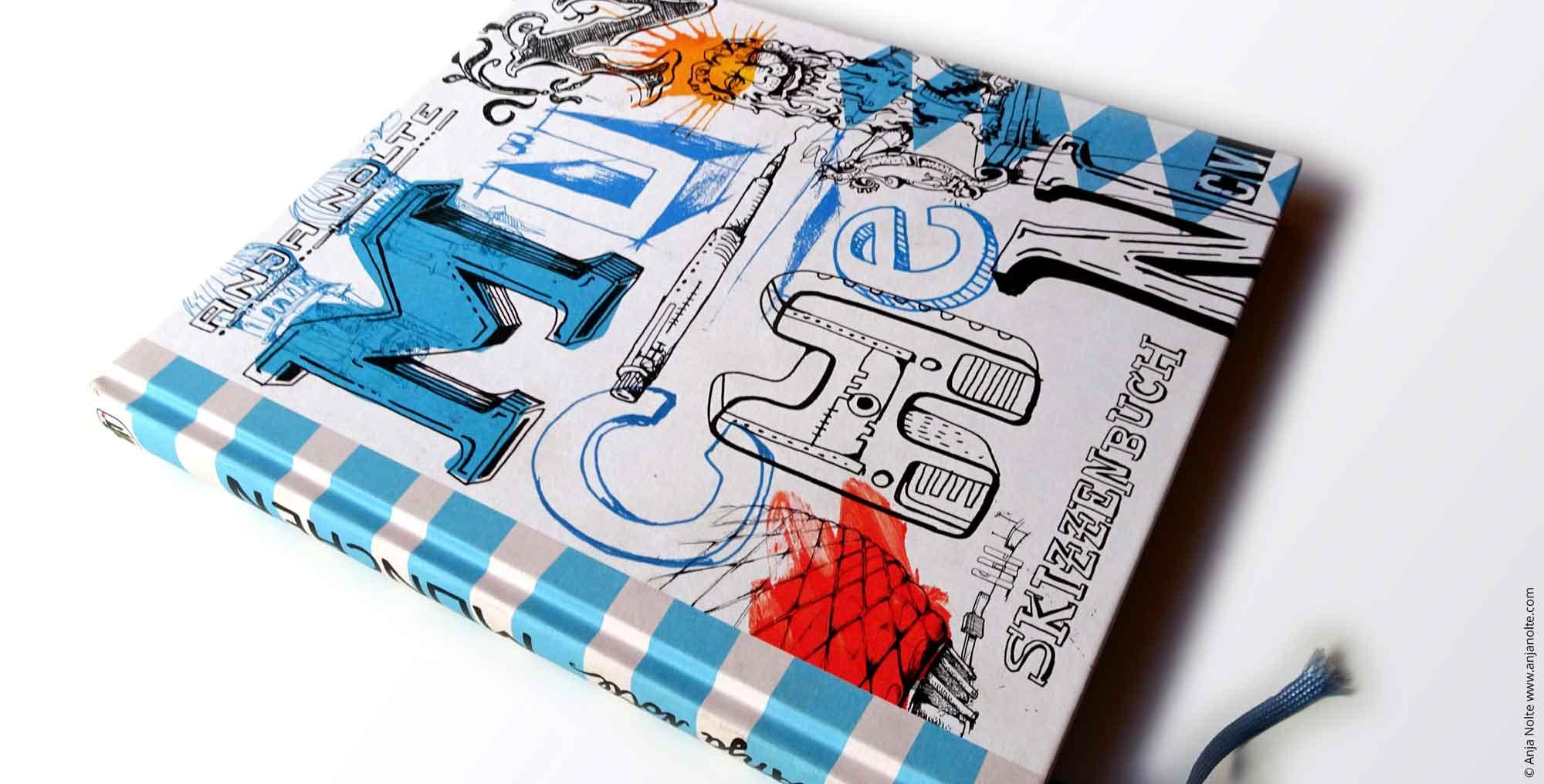 Foto des Buches Urban Sketching Müchen. Reiseführer, Zeichnungen & Anekdoten von Anja Nolte