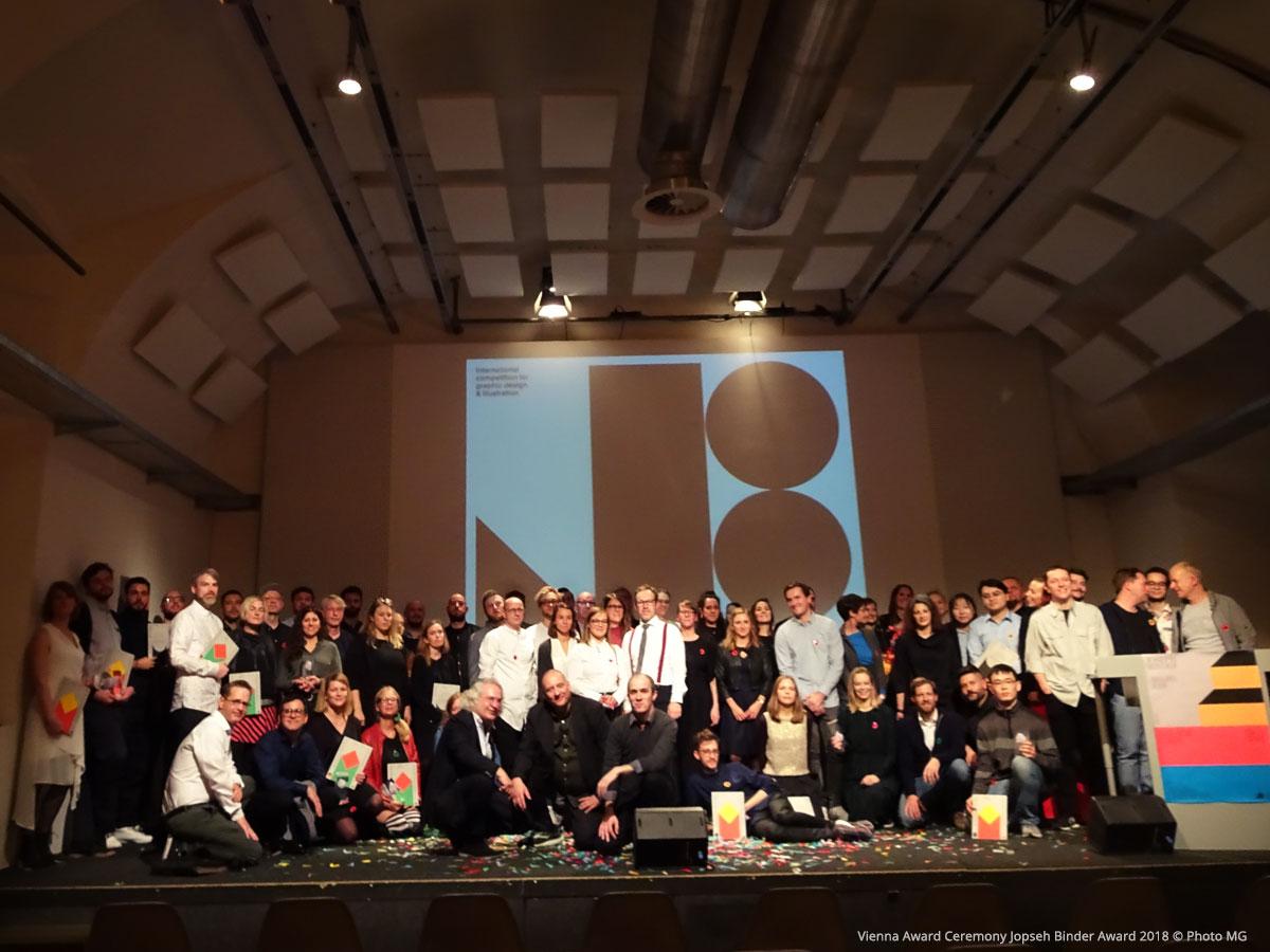 joseph Binder Award 2018 Ceremony at the designforum Vienna